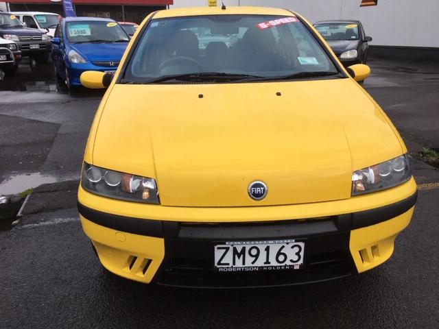 2000 Fiat Punto HGT, 5 Speed